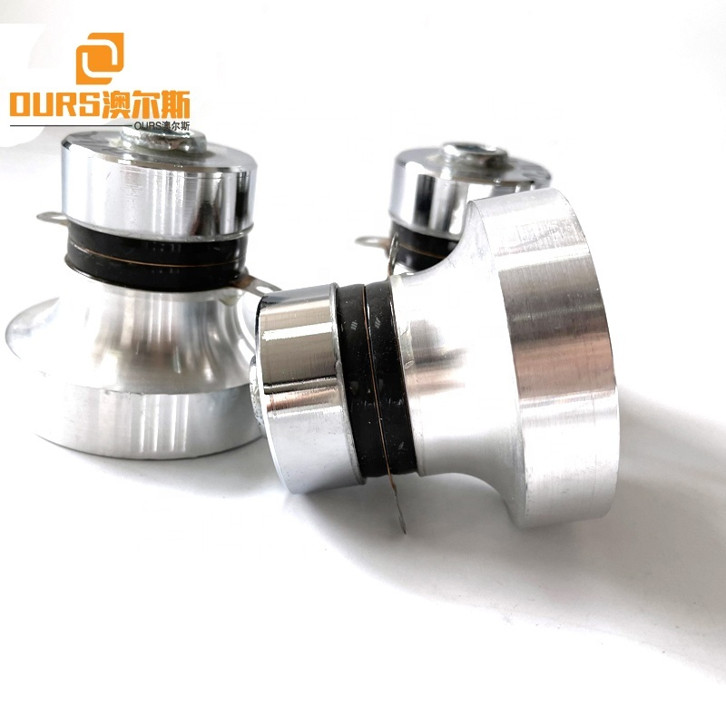 28K/40K 60W Dual Frequency Ultrasonic Piezo Transducer Vibrator Used For Motor Filter Parts Plastic Mold Industrial Washing