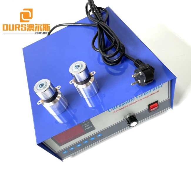 CE Certificate Factory Sale 600W 40KHZ 28KHZ Single Frequency Ultrasonic Generator For Industrial Cleaning Water Bath