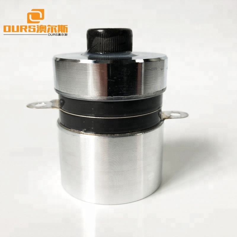 Ultrasonic Cleaning Equipment Parts 80K 60W Piezoelectric Ultrasonic Cleaning Transducer PZT-4 Material