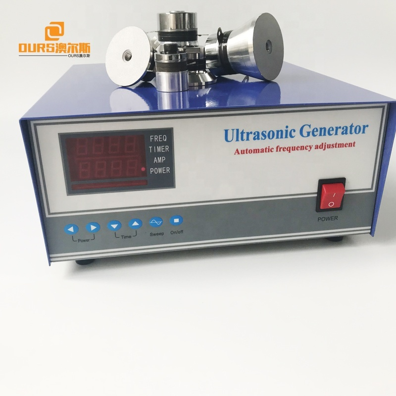 26/46KHz 1200W High Power Multi Frequency Ultrasonic Generator For Cleaning Tank
