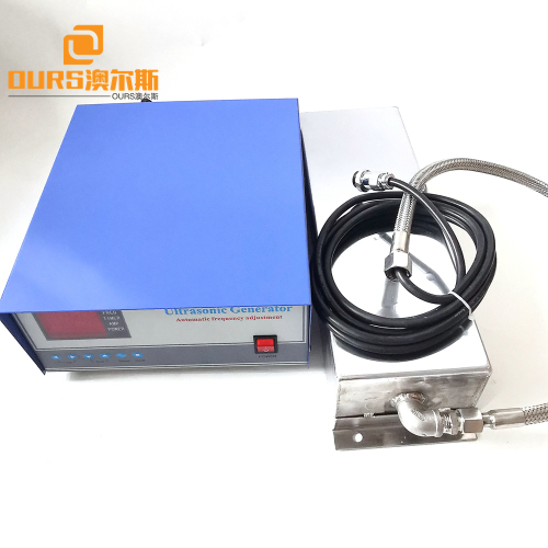 300w 40khz 220v Ultrasonic Immersible Transducer Plate And Generator for  Electrical Components Cleaning