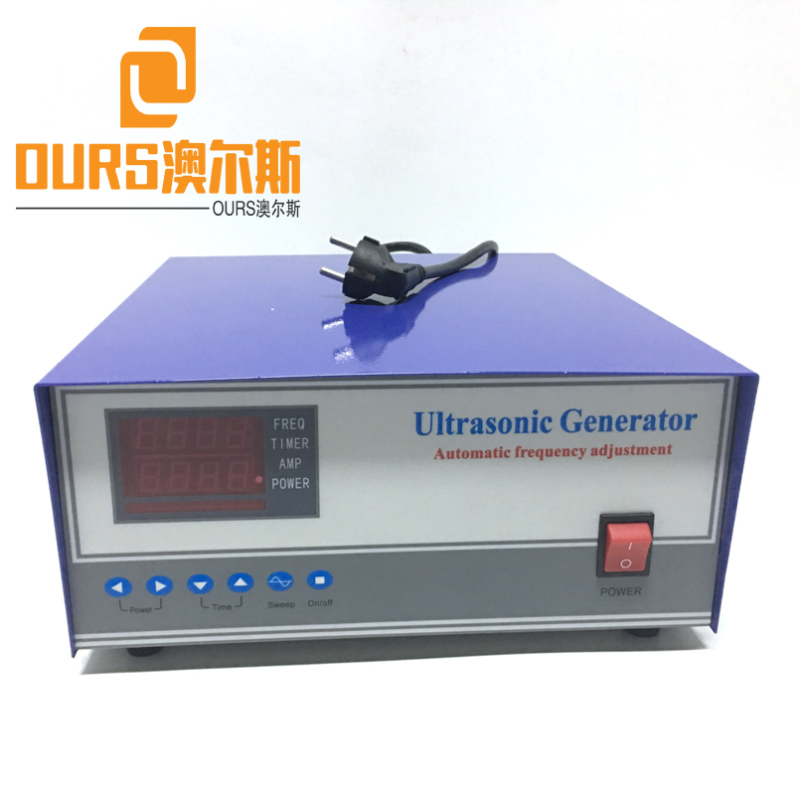 1200W 28KHZ/40KHZ High-power ultrasonic baths with power control For Industrial Ultrasonic Cleaning Tank
