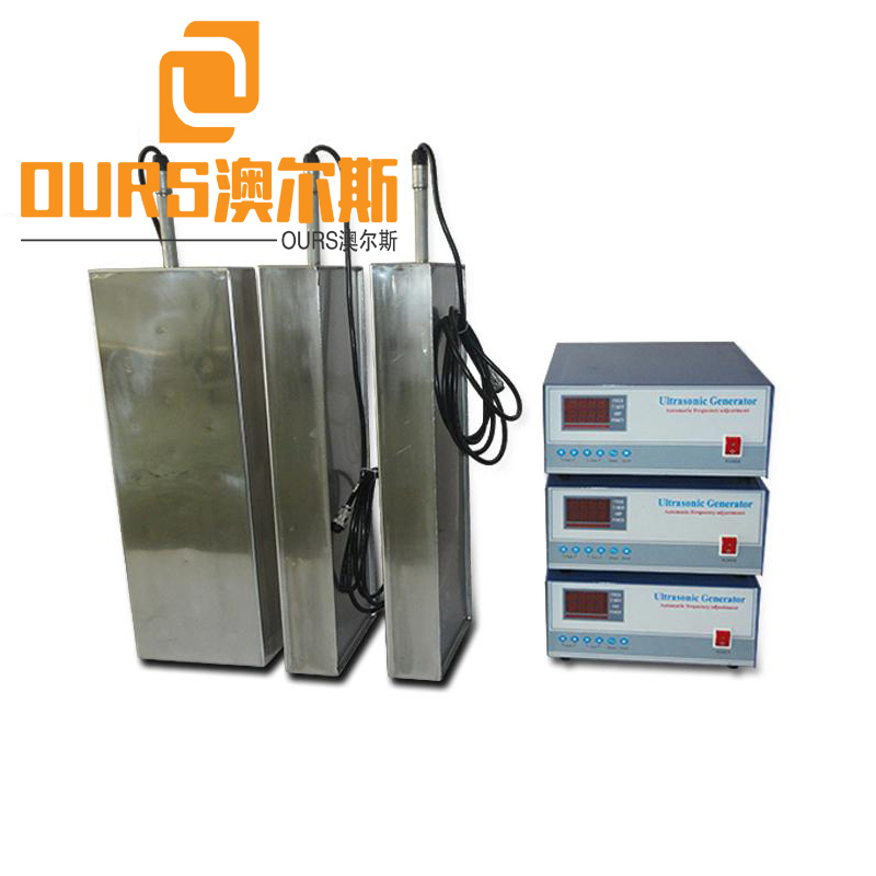 28KHZ/40KHZ 1800W Ultrasonic Immersible And Push Pull Transducers For Cleaning Stainless Steel Polished Products