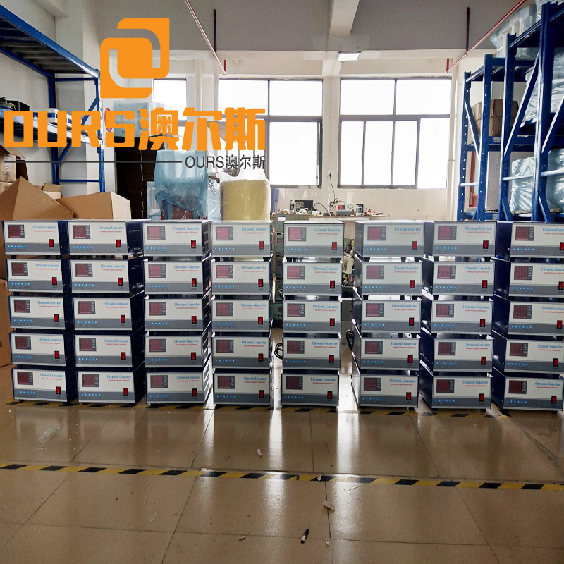 1200W 28KHZ/40KHZ Generator Ultrasonic With Transducer For Cleaning Control Parts