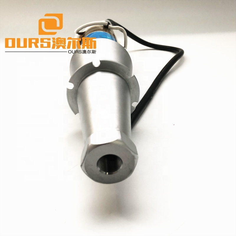 15Khz High Power Ultrasonic Transducer For Welding Plastic, Fabric, ABS, Nonwovens Without Housing