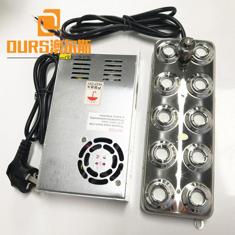 10 Head Mist Generator Outdoor Cooling Fogger Maker Ultrasonic Mist Humidifier atomizing transducer