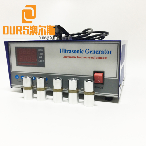 28KHZ/40KHZ 2400W diy Digital Ultrasonic Sweep Generator With Industrial Ultrasonic Cleaning Tank
