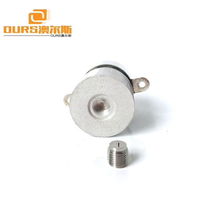 135KHz 50W OURS Low Power High Frequency Ultrasonic Transducer For Industrial Cleaning