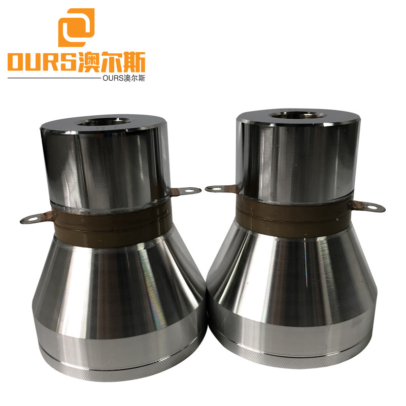 28K40K60K 120W P8 Multi- Frequency Ultrasonic Piezoelectric Transducer For Cleaning Machine