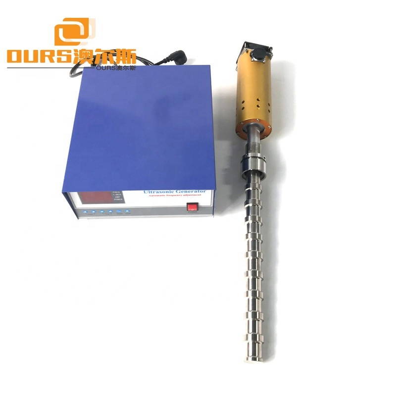 20KHz Ultrasonic Liquid Reactor 1000W Continuous Stirred Tank Mixing Reactor For Chemical Laboratory