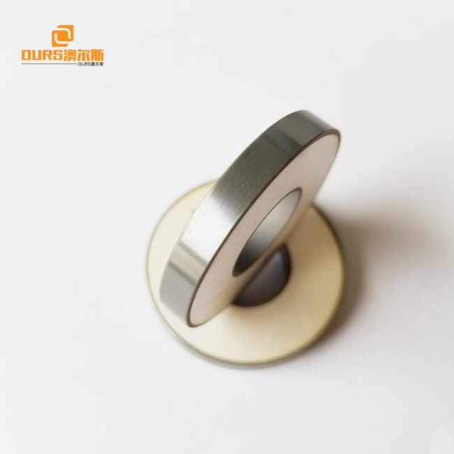 Ultrasonic Piezo Element,50*20*6.5mm piezoelectric ceramic ring PZT8