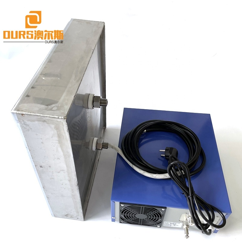 28K 40K Factory Custom Ultrasonic Immersion Array Transducer Box Submersible Cleaner For Car Cylinder Filter Ultrasound Cleaning