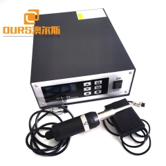 800w 28khz Ultrasonic Puncture Handle Welder With Titanium Horn For Automobile Rear Wing Board