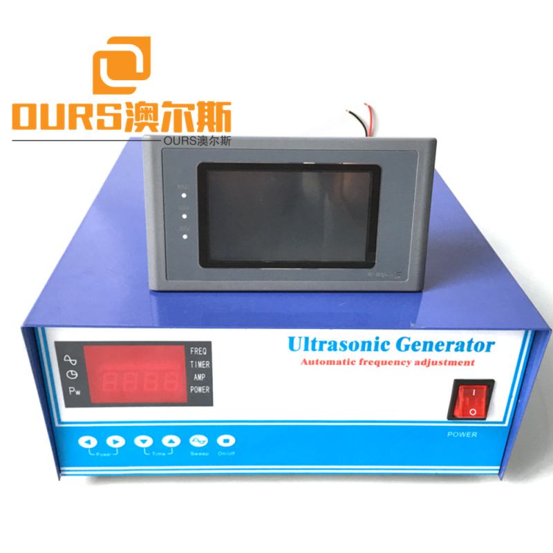 1200W RS485 Type 2019 hot sale new 20-40 khz ultrasonic generator supplier CE approved