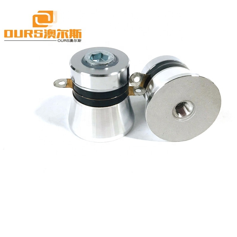 PZT-4 Ultrasonic Cleaning Components Piezo Ceramics Ultrasonic Transducer 40KHz 50W