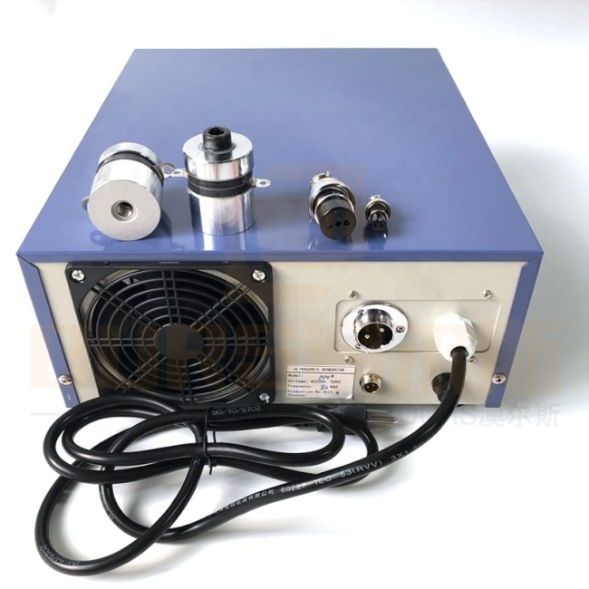 Industrial Vibration Washer Driver Ultrasonic Vegetable Washing Generator 600Watt High Frequency Pulse Wave Generator