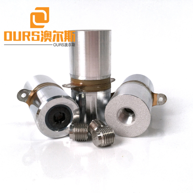 40KHZ 20W PZT4 Low Power Ultrasonic Welding And Hole Drilling Transducer For Ultrasonic Welding