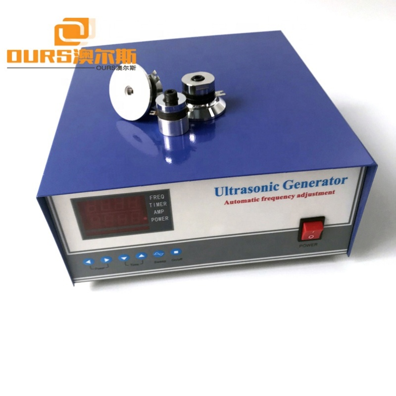 28KHz/60KHz Double Frequency Ultrasonic Power Supply Dual Frequency Ultrasonic Generator Driver