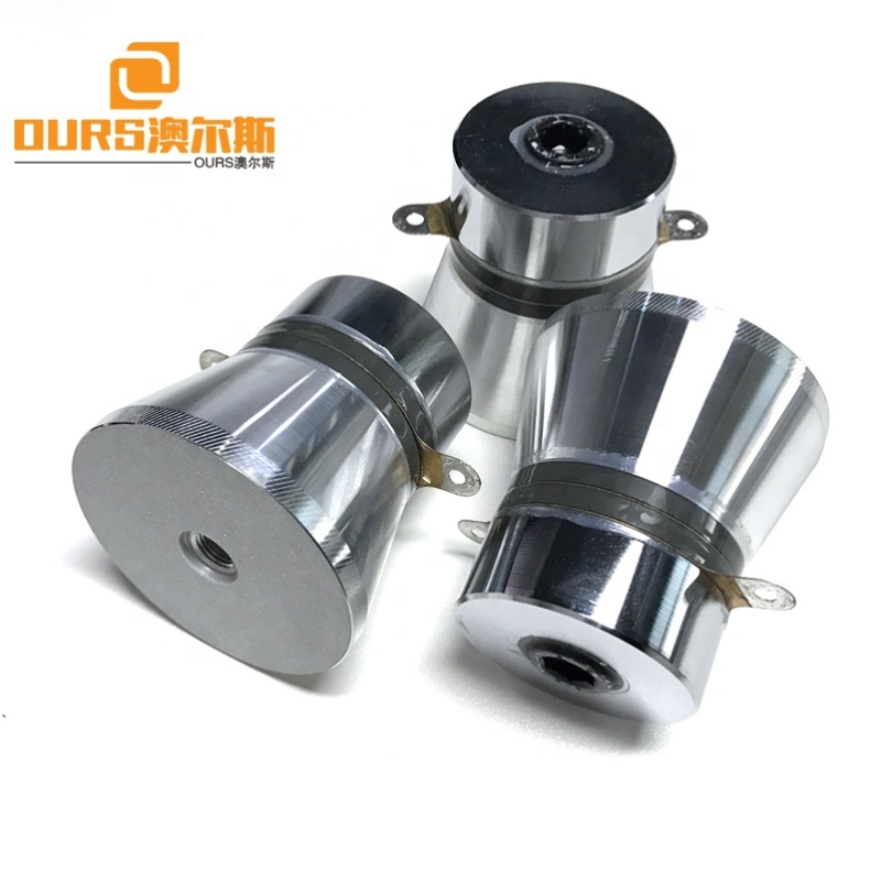 Pulse Wave Piezoceramic Ultrasonic Cleaning Transducer 100W Cleaner Tank Ultrasonic Accessories Piezo Transducer 28K Frequency