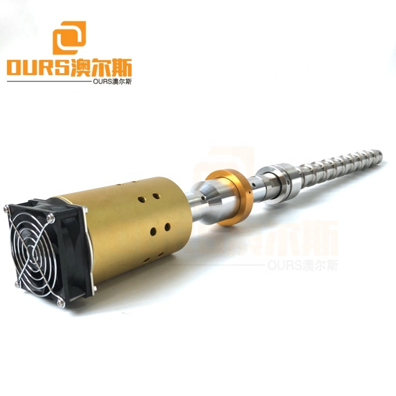 Flange Mounted Ultrasonic Rod In The Cleaning Tank Immersible Ultrasonic Vibration Reactor 1500W 20K For Biodiesel Extraction