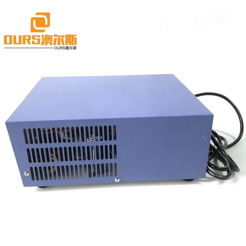 Industry Ultrasonic Cleaning Products Ultrasonic Generator 1200W 17K To 40K Frequency Ultrasonic Cleaner Power Generator With CE