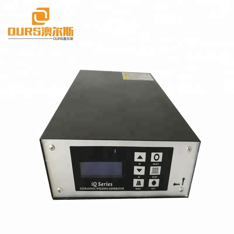 20khz1500w ultrasonic welding generator price with welding transducer for plastic welding machine and Bag Making Machinery