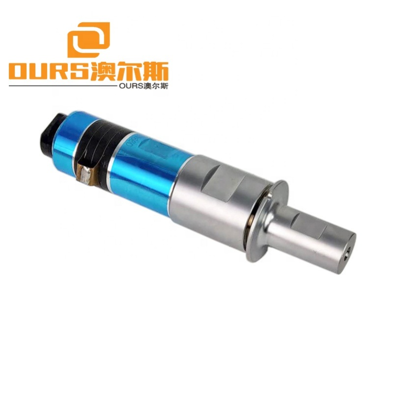 2000W ultrasonic Rubber Cutting transducer with transducer for 20khz Ultrasonic plastic cutting machine