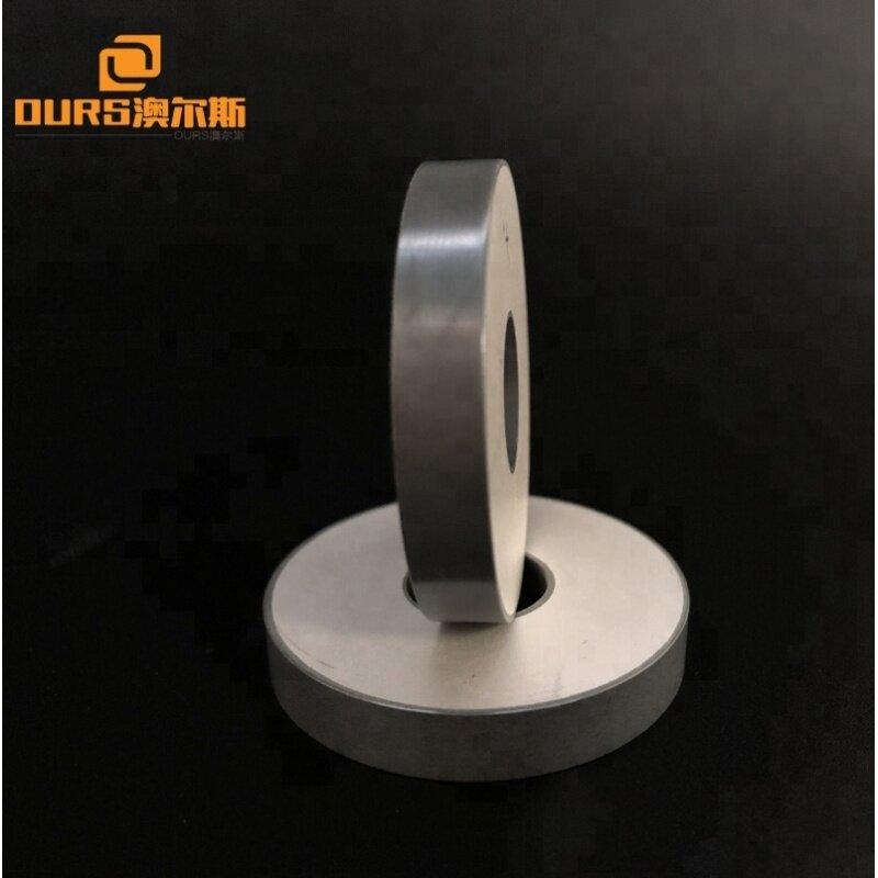 Piezoelectric Ceramic Material PZT 40x12x5mm Ring Piezo Ceramic Transducer Raw Material
