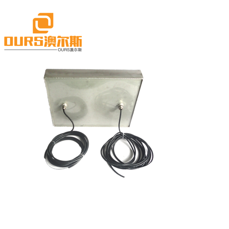 28KHz 600w Stainless Steel Steam Ultrasonic Generator With Ultrasonic Transducer Plate For cleaning
