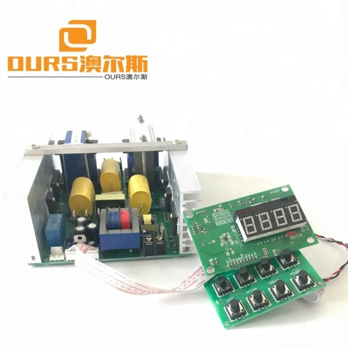 Ultrasonic cleaner driver PCB vibration generator 300W40KHZ 220V Temperature heating control,Power & Timer Adjust