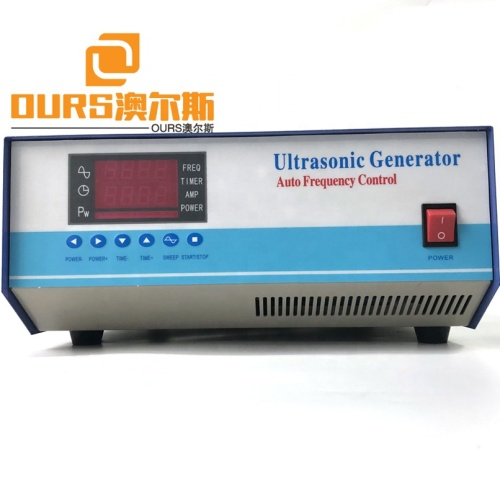 600Watt Multi-Frequency Ultrasonic Cleaner Generator For Industry Cleaner Vibration Ultrasound Signal Frequency Generator