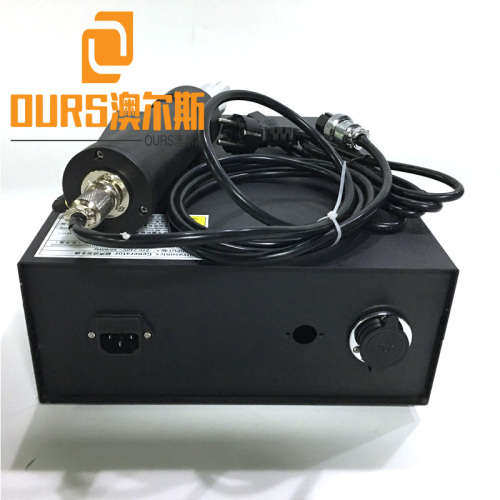 28Khz 300w Ultrasonic spot welding machine for plastic parts