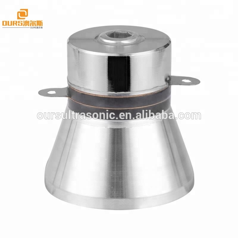 100w Ultrasonic washer Transducer 28khz Frequency Scrubber Transducer Ultrasound