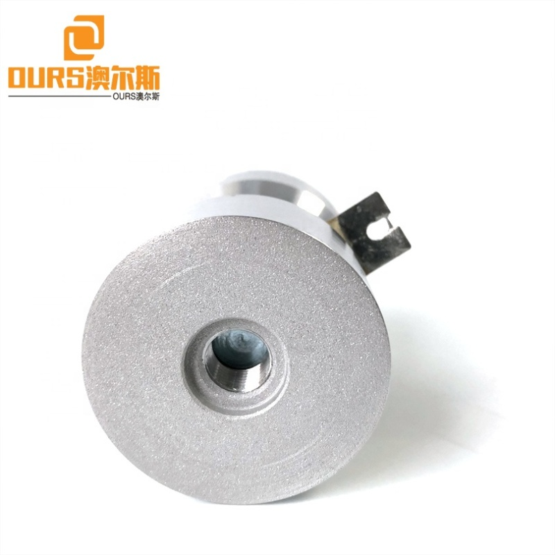 High Frequency Vibration Wave Ultrasonic Cleaning Transducer 170K 50W PZT4 Piezoceramic Material Cleaner Tank Transducer