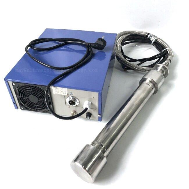 Irradiation Biodiesel Ultrasonic Liquid Processor Stick Immersion Ultrasound Biodiesel Mixing Transducer Rod 1500W 25KHZ