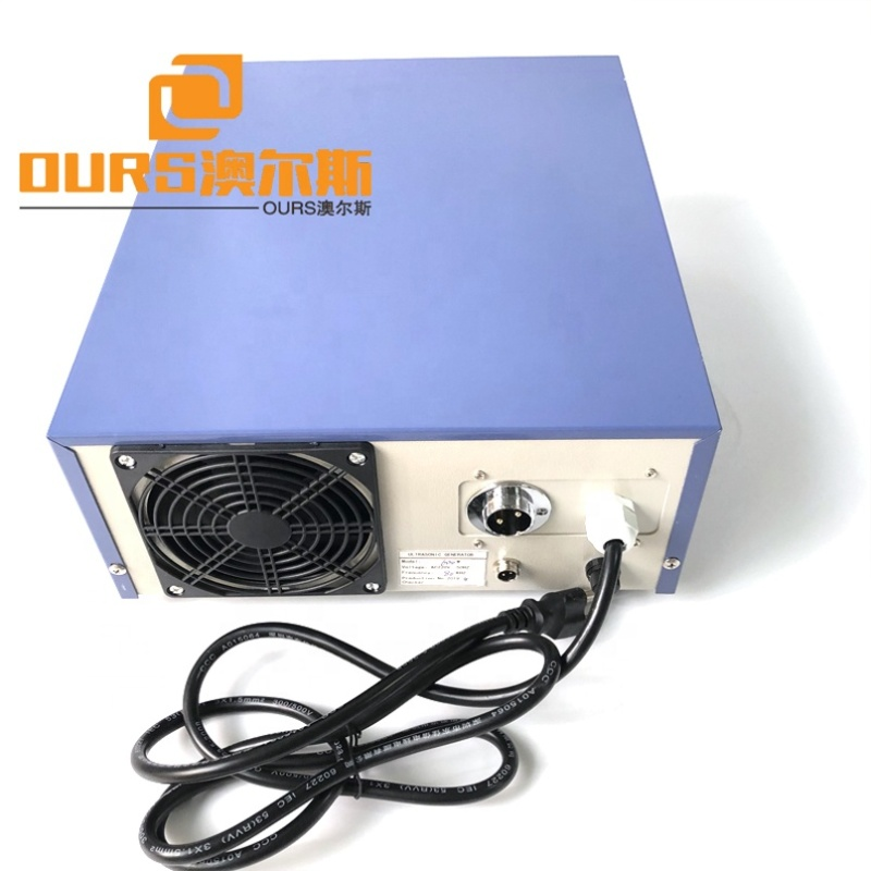 135K High Frequency Cleaner Ultrasonic Sweep Frequency Generator Industrial Cleaner Slot Generator Box With Digital Control