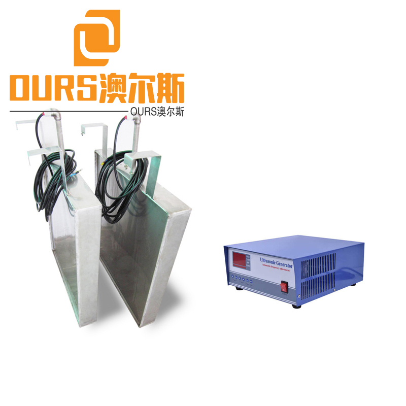 25KHZ 2700W Hot Sale Submersible Waterproof Ultrasonic Sensor Transducers Pack Transducer Box Immersible For Industry Cleaning