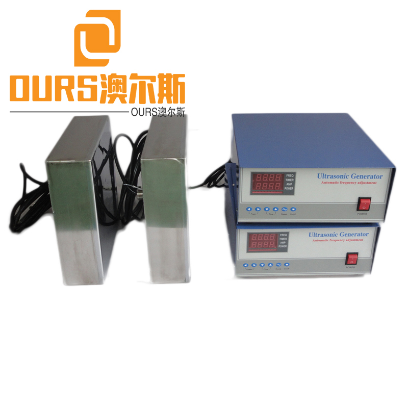 1200W High Frequency Waterproof Immersible Ultrasonic Transducer for Cleaning hydraulic components