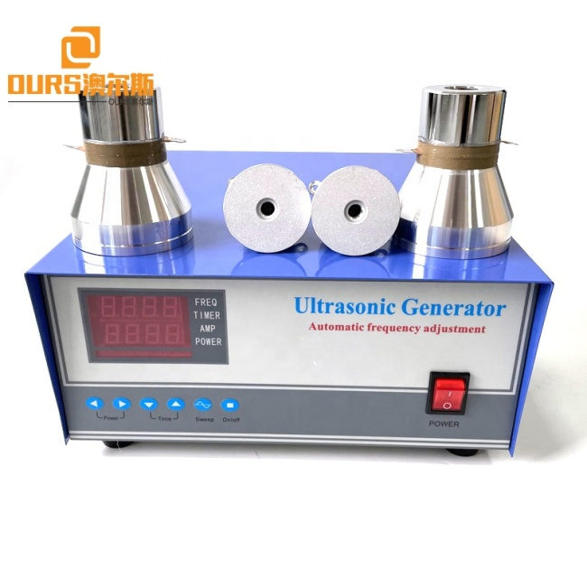 28KHZ/40KHZ Frequency Switchable Ultrasonic Clean Bath Generator Driver For Industrial Valve Body/Carburetor Cleaning Equipment