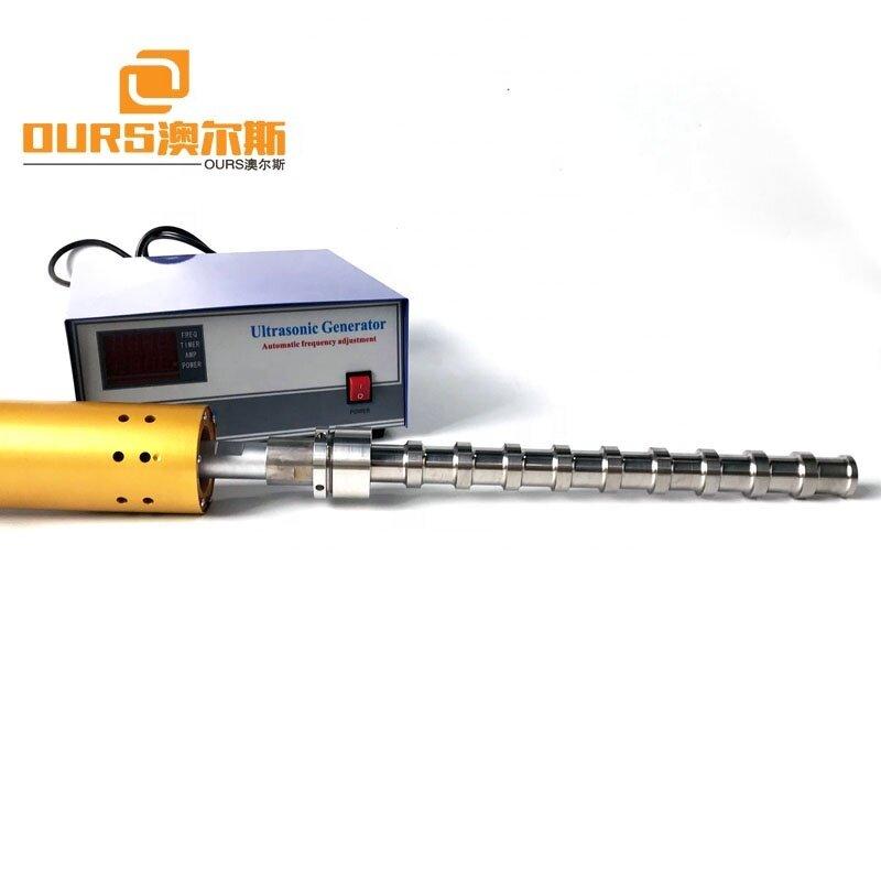 20KHz Immersible Tube Type Ultrasonic Transducer Equipment 2000W Ultrasound Probe For Scavenge Oil