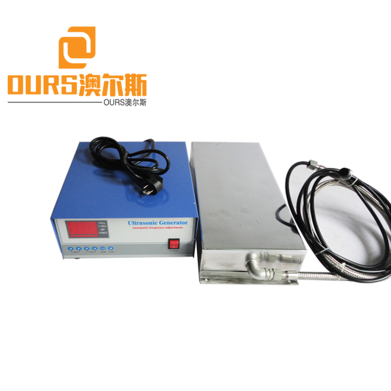 25KHZ/28KHZ 7000W Customized Stainless Steel 316 Ultrasonic Plate Transducer For Industrial Cleaning