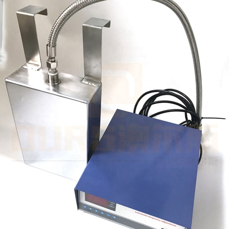 300W-5000W Power Optional Electroplated Submersible Ultrasonic Cleaning Transducer Plate Immersion Cleaner Transducer Box