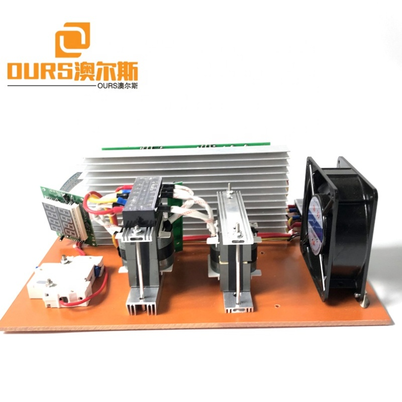 1300W Waterproof Ultrasonic Cleaner Power Supply Ultrasonic PCB Generator With Frequency And Power Adjustable