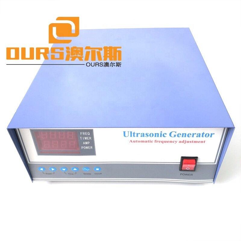 600Watt Cleaning Transducer Power Generator Digital Ultrasonic Power Generator High Frequency Signal Generator Box