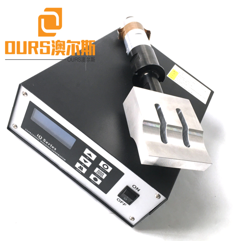 2000W 20KHZ Ultrasonic Generator Transducer Booster Horn For Face Mask Ear Loop Welding Machines