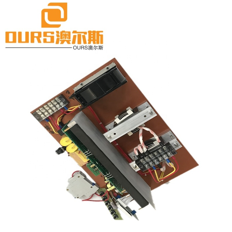 20khz,25khz,28khz,30khz,33khz,40khz 1200W Ultrasonic Control Circuit For Ultrasonic Cleaning Transducer