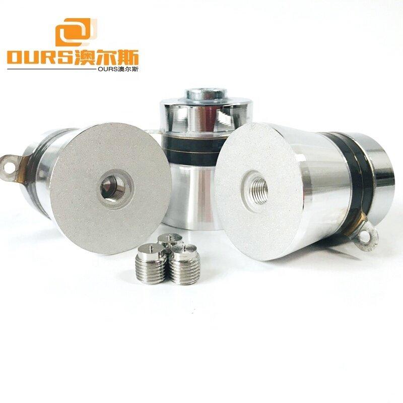 160KHz 60W High Frequency Ultrasonic Oscillator PZT-4 Piezoelectric Ultrasonic Transducer With Screw