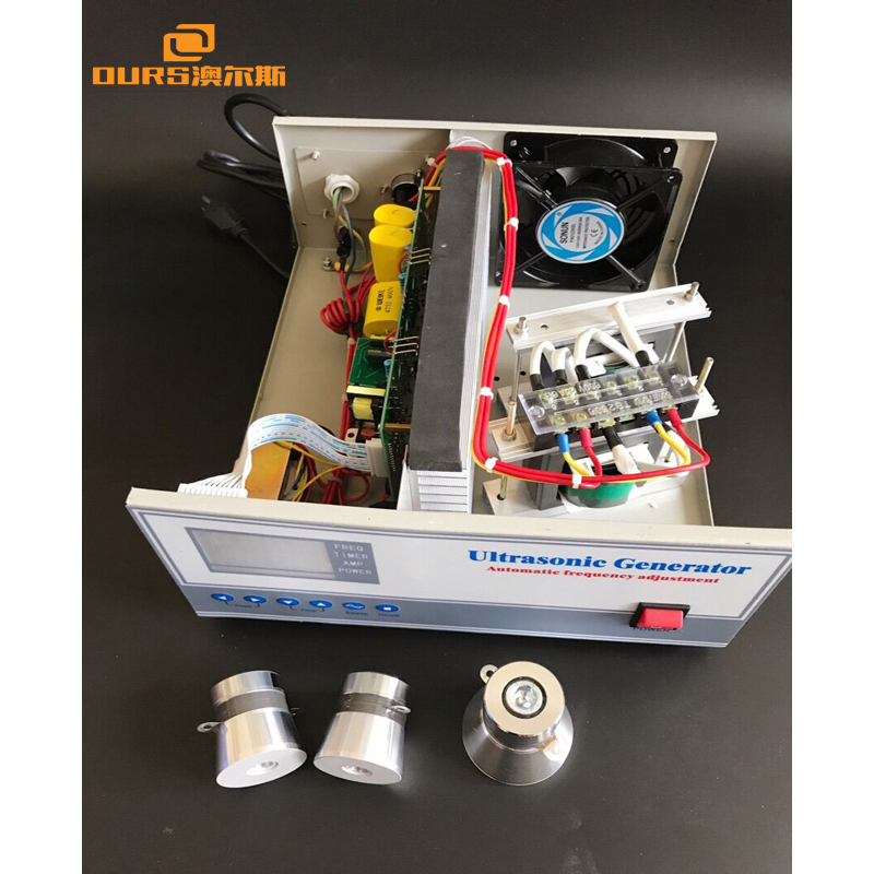 1200W Automatic frequency adjustment 17k,20k,25k,28k,33k,40k Ultrasonic Generator Ultrasonic Standard Cleaning Machine