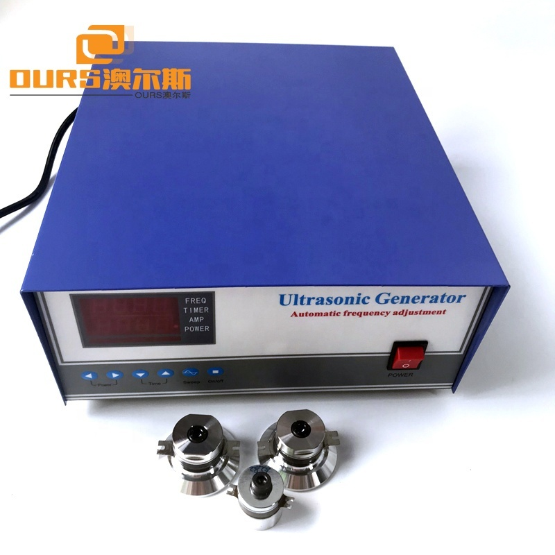 110V 220V Ultrasonic Cleaning Generator 25KHz Manufacturer