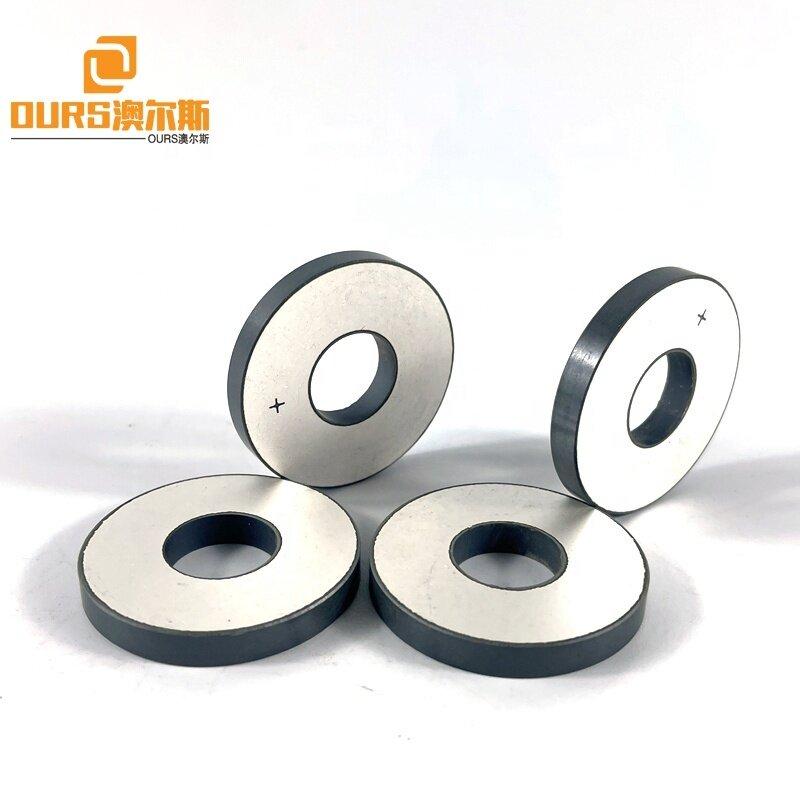 28K 40K 38mm Diameter Piezoceramic Material Piezoelectric Ceramic Ring Used On Ultrasonic Cleaning Sensor